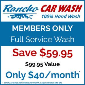 Blue Wash Member Pricing